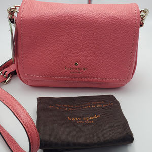 Kate Spade Cobble Hill Abela Crossbody Warm Guava